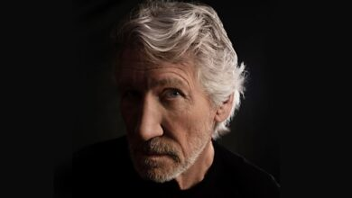 British musician Roger Waters